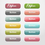 Web buttons.Part II Royalty Free Stock Photo