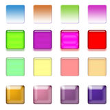 Web Buttons Set Royalty Free Stock Images