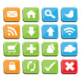 Web Buttons Set Royalty Free Stock Image