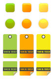 Web buttons vector Royalty Free Stock Images