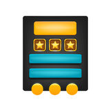 Web buttons. Vector Royalty Free Stock Photos