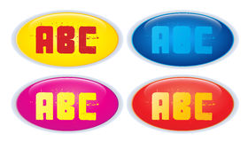 Web Buttons Vectors Royalty Free Stock Images