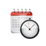 Web calendar. Stock Image