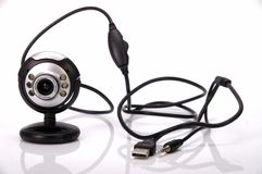 Web cam. Camera usb sound volume royalty free stock images