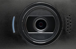 Web cam. Close-up, concept of video chatting or video conference royalty free stock images