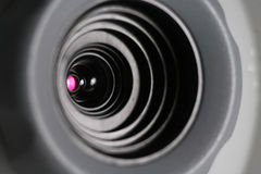 Web cam close-up Royalty Free Stock Photo