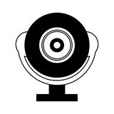 web cam gadget isolated icon Stock Photo