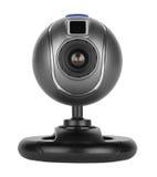 Web camera. Isolated of white background Royalty Free Stock Images