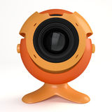 Web camera stock illustration