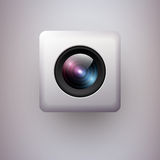 Web camera icon Stock Image