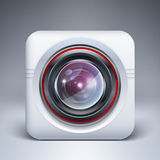 Web camera icon. Vector Royalty Free Stock Photography