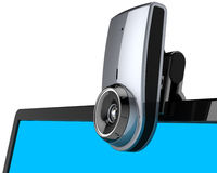 Web camera internet communication Royalty Free Stock Photo