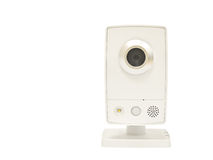 Web Camera Isolated on White Background Royalty Free Stock Photography