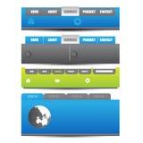 Web che progetta elemento Immagine Stock