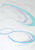 Web circular banner - transparent background Royalty Free Stock Photos
