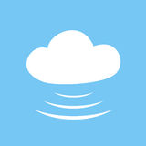 Web cloud icon Stock Photography
