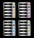 Web color buttons Stock Photos