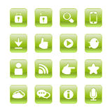 Web, communication icons Stock Photo