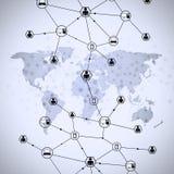 Web Communications Stock Photo