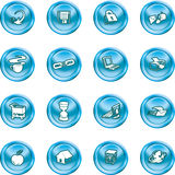 Web and Computing icons. Stock Photo