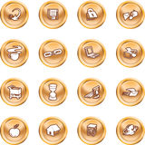 Web and Computing icons. Stock Photography
