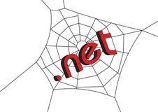 Web con .net Fotografie Stock