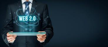 Web 2.0 concept Stock Photos