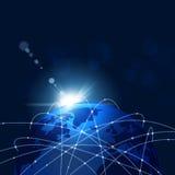 Web Connections Concept Stock Photos