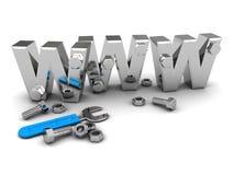 Web construction Royalty Free Stock Image