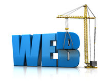 Web construction Stock Photography