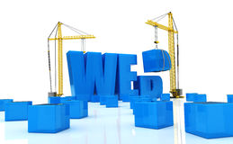 Web construction Stock Photos