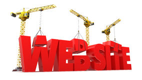 Web construction Stock Images