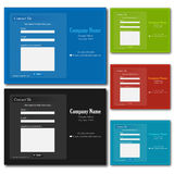 Web Contact Forms Royalty Free Stock Photography