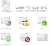 Web Control Panel Icons royalty free illustration