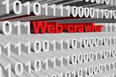 Web crawler Royalty Free Stock Photos