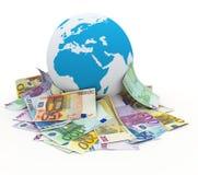 Web d'affaires Photos stock