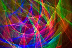 Web d'arc-en-ciel (abstrait) Image stock
