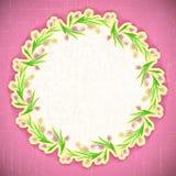 Web de abril do vetor do fundo da flor do teste padrão Fotos de Stock