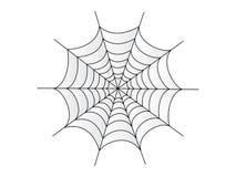Web de araña stock de ilustración