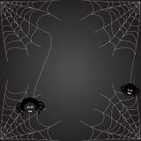 Web de aranhas Fotos de Stock Royalty Free