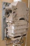 Web de geyser de la poussière Image libre de droits