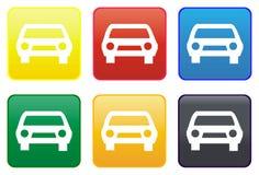 Web de véhicule de bouton Photo libre de droits