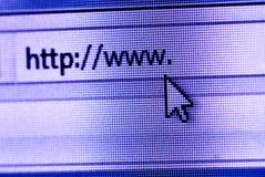 Web de WWW Fotografia de Stock