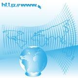 Web del Internet stock de ilustración