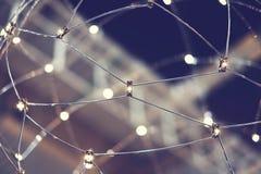 Web dell'apparecchio d'illuminazione fotografia stock libera da diritti