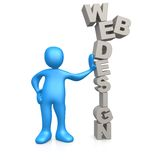 Web Design. Computer Generated Image - Web Design