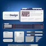 Web_design_3 Immagini Stock