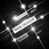 WEB DESIGN illustration de vecteur
