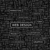 WEB DESIGN illustration libre de droits