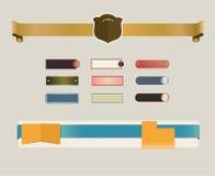 Web design Immagini Stock Libere da Diritti